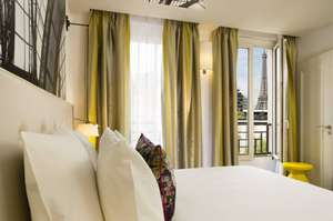 Picture of Deluxe Double Room with Eiffel Tower view