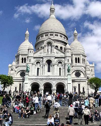 how to get to sacre coeur from notre dame